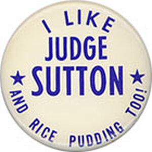 Judge Sutton Button