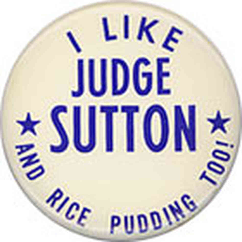 Judge Sutton Button