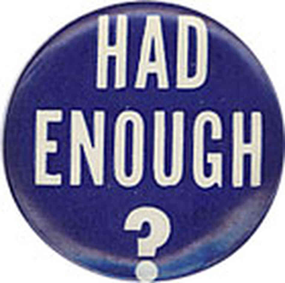 Had Enough? button