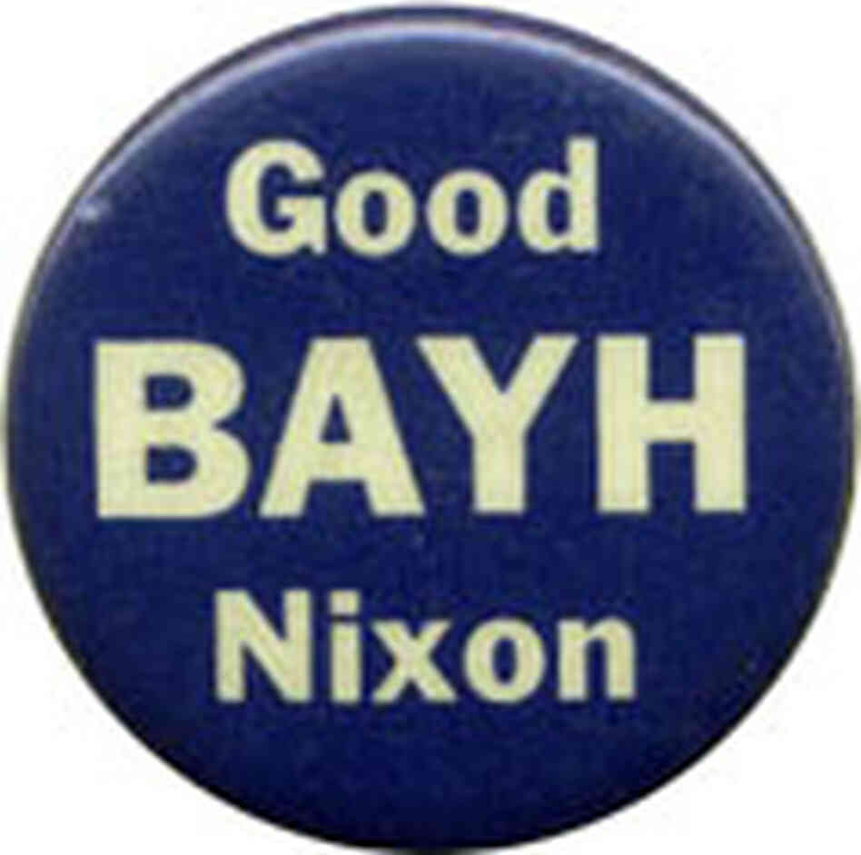 Sen. Birch Bayh button