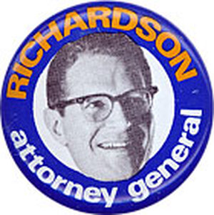 Elliot Richardson held four Cabinet posts -- the most in history.