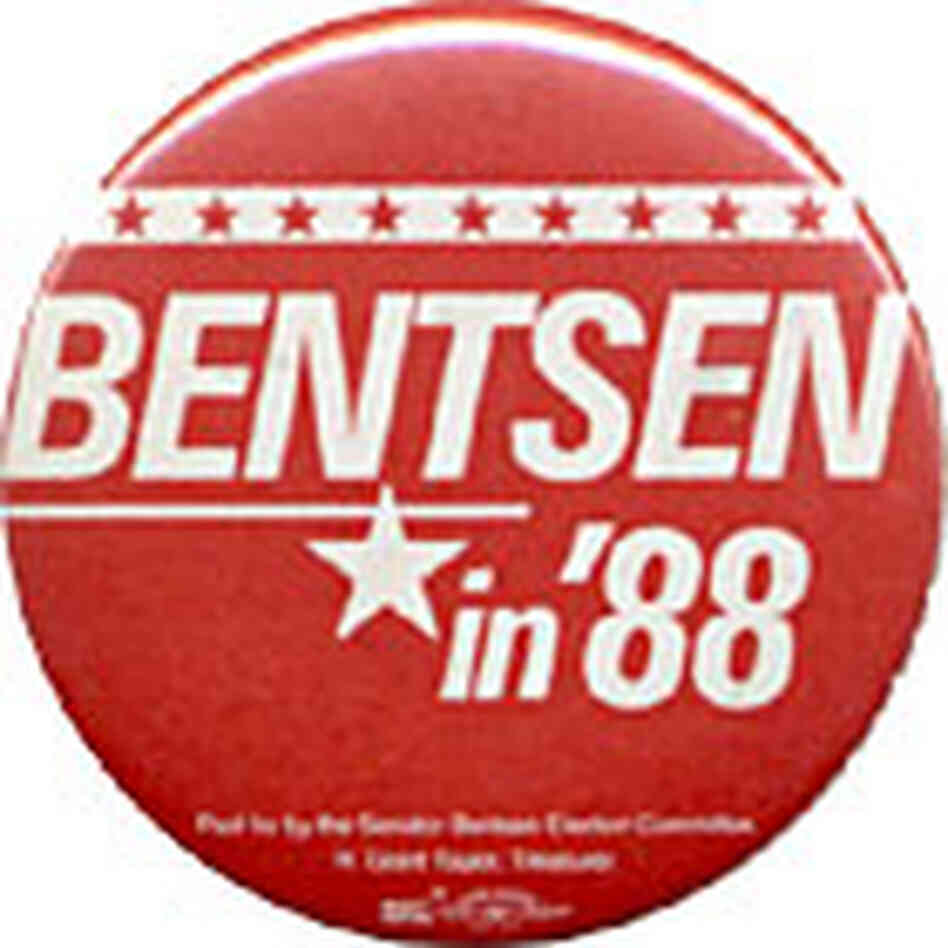 Lloyd Bentsen button