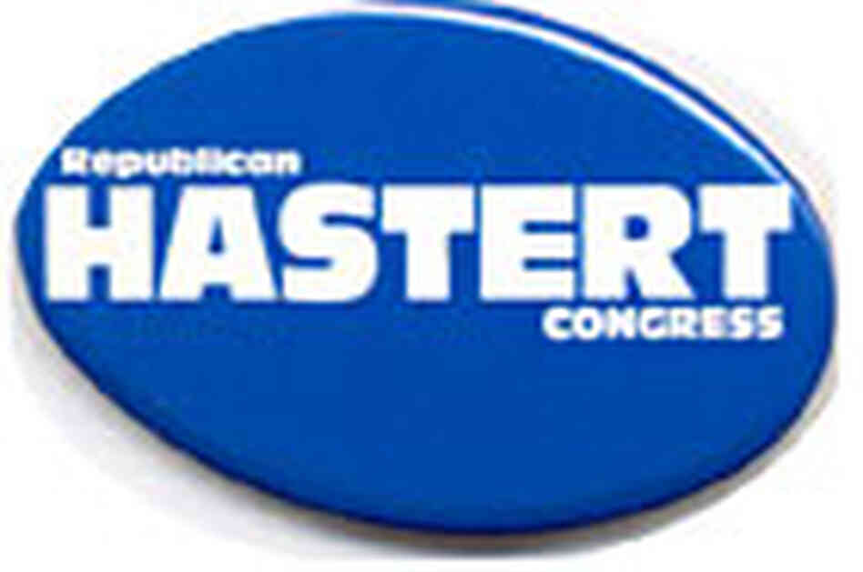 Dennis Hastert campaign button