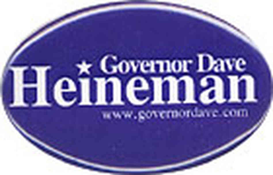 Dave Heineman campaign button