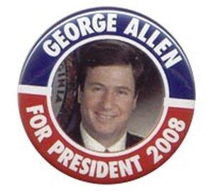 George Allen button