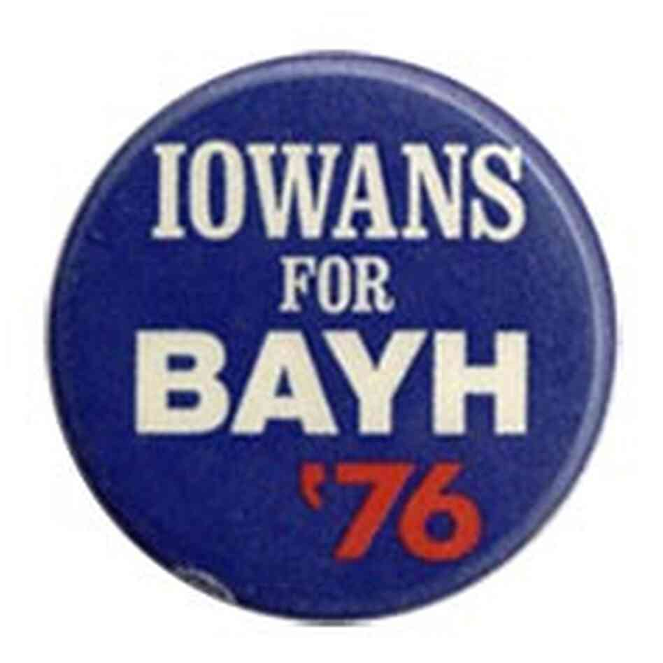 Birch Bayh button