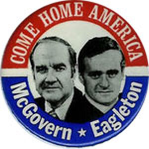 McGovern-Eagleton button