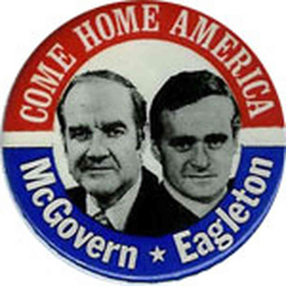 McGovern-Eagleton button