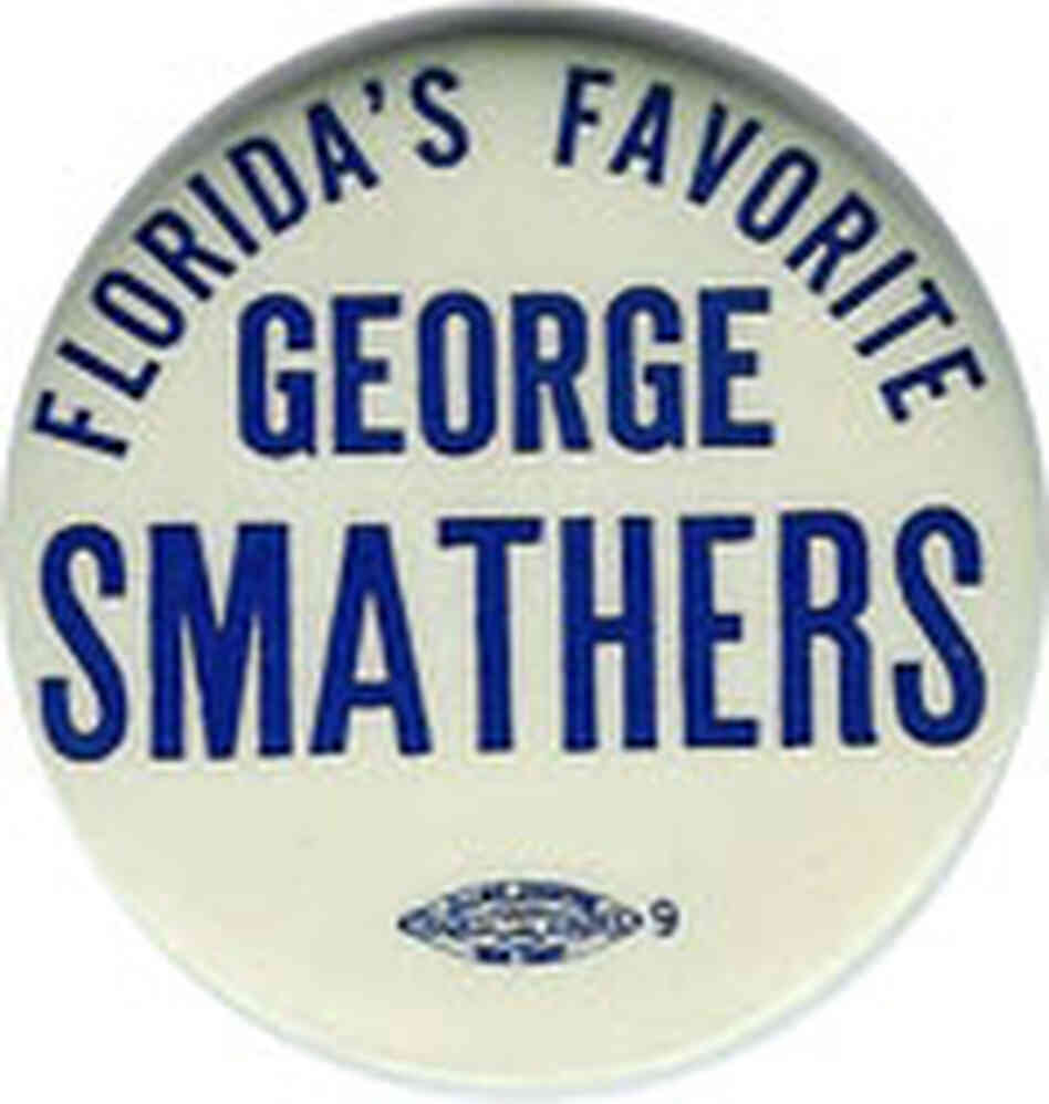 Winner of a memorable contest against Claude Pepper in 1950, Fla. Sen. Smathers was a close JFK pal.