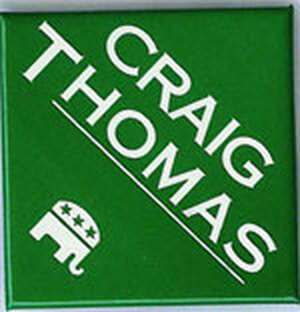 Wyoming Sen. Thomas — and five members of the House — passed away in 2007.