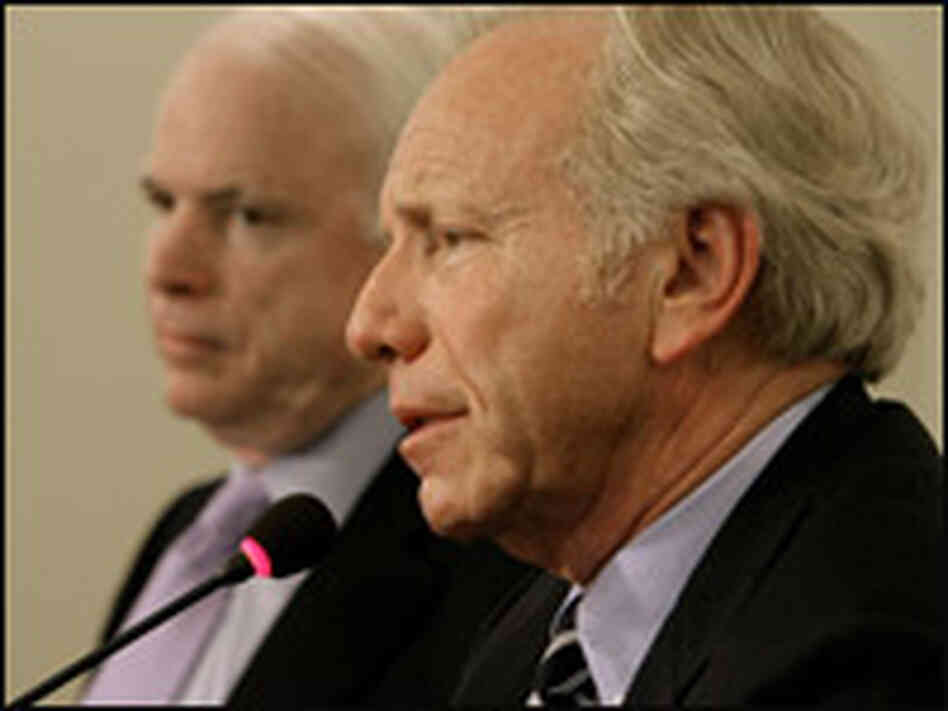 Sen. Joe Lieberman has endorsed John McCain.