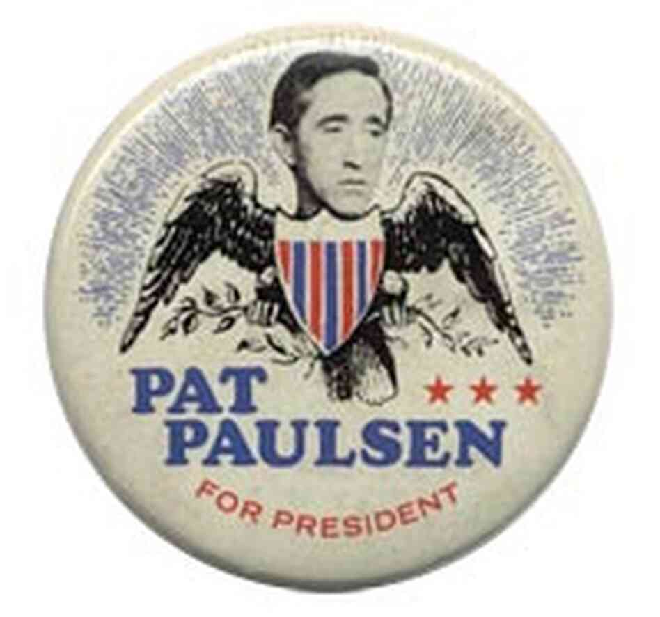 Pat Paulsen button