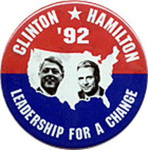 Some Democrats wanted Lee Hamilton for VP in 1992.  How 'bout Secretary of State?