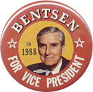 The 1988 Democratic candidate for vice president, best known for his Dan Quayle put down.