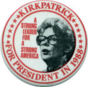 Never a candidate, despite the wishes of some conservative Republicans in 1988.