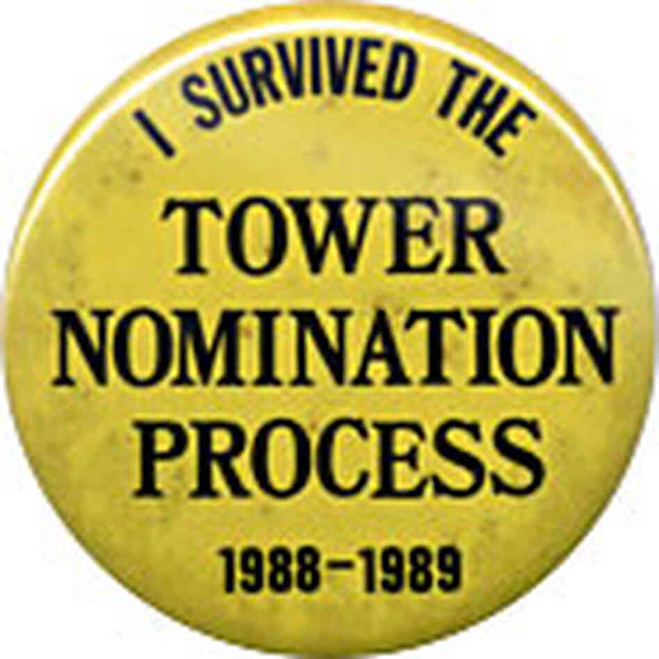 Tower button