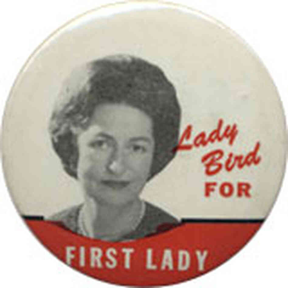 Lady Byrd for First Lady button