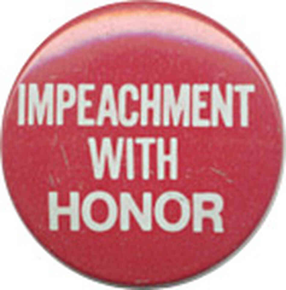 Impeachment button