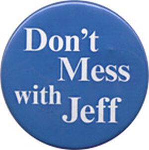 Bill Jefferson button