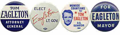 Eagleton buttons