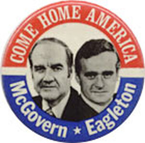 Eagleton was the 1972 Democratic VP nominee for all of 18 days.