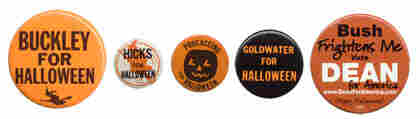 Halloween campaign buttons