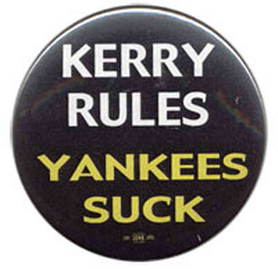 'Kerry Rules, Yankees Suck' button