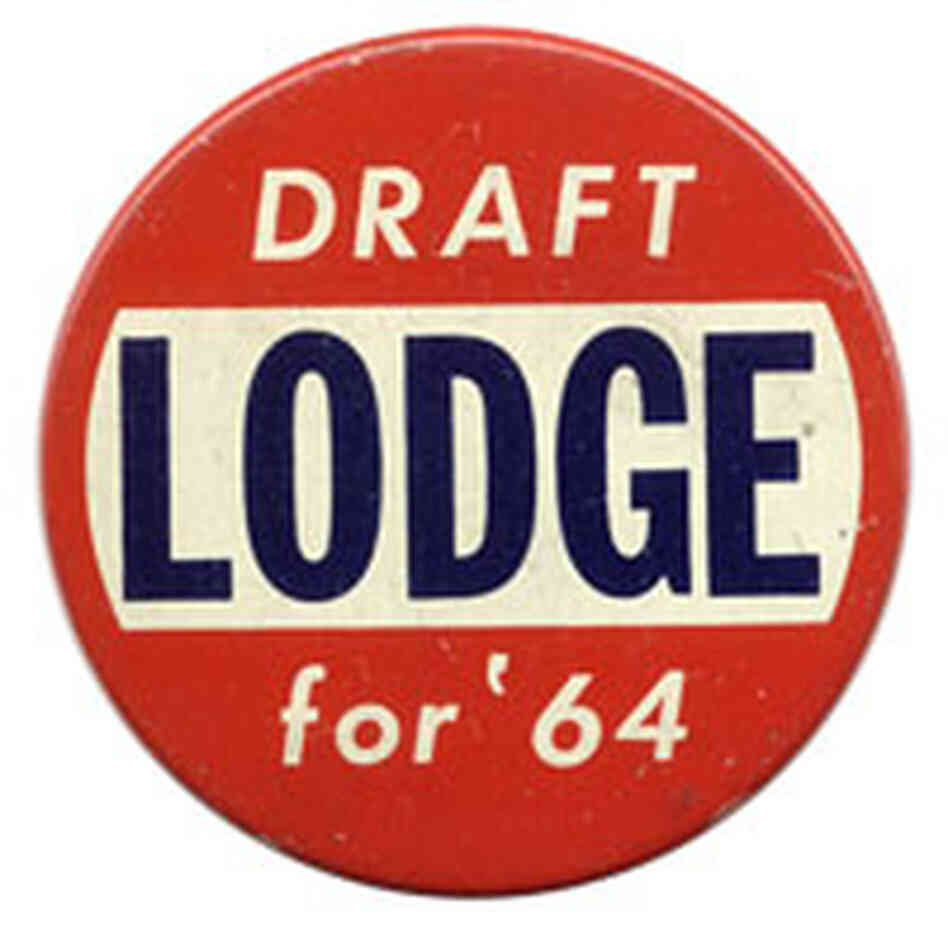 'Draft Lodge for '64' button