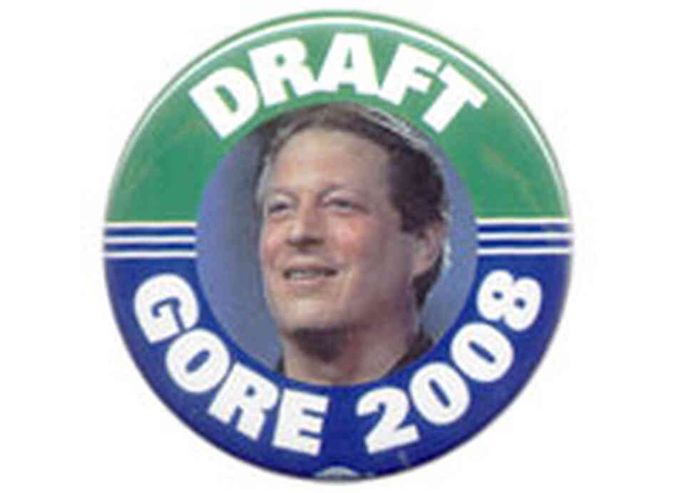 'Draft Gore 2008' button