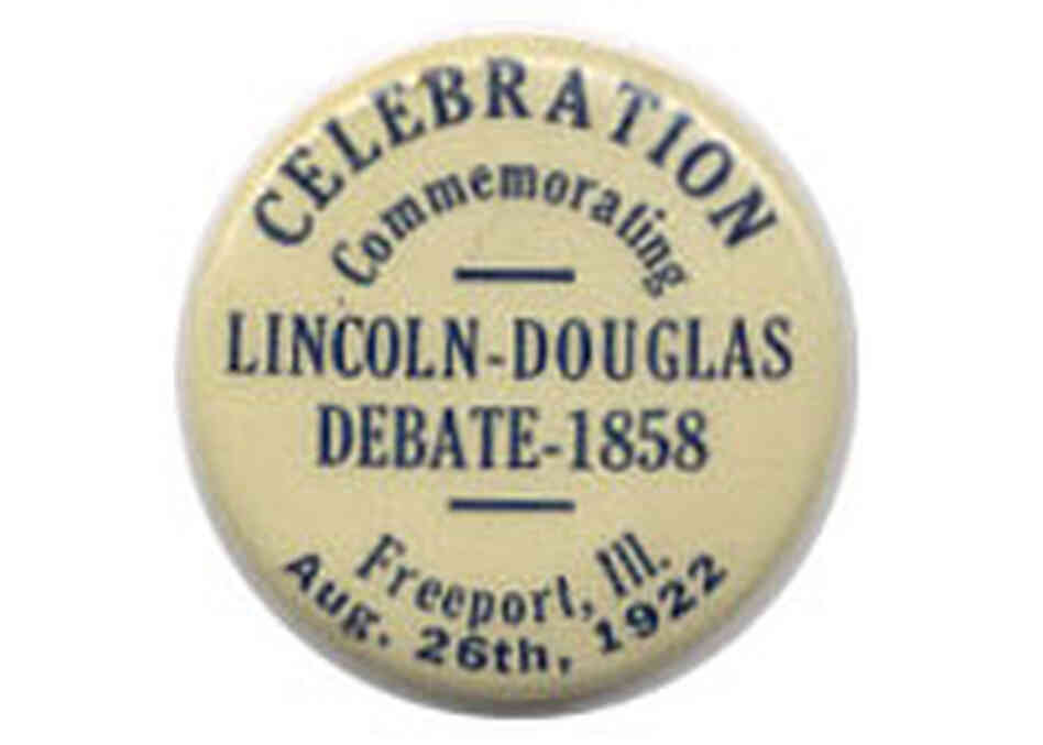'Lincoln-Douglas Debate' button
