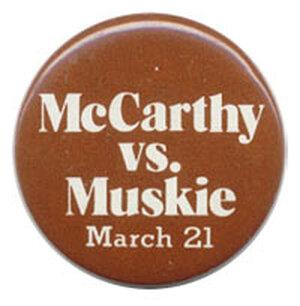 McCarthy vs. Muskie