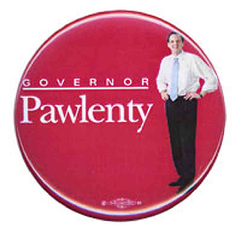 Minnesota Gov. Tim Pawlenty button