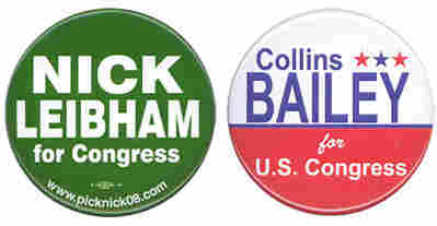 Nick Leibham, Collins Bailey buttons