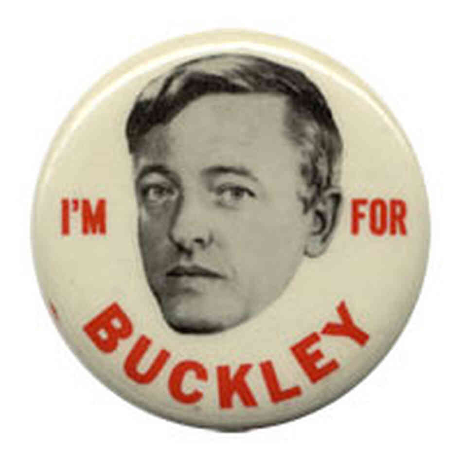 'I'm for Buckley' button