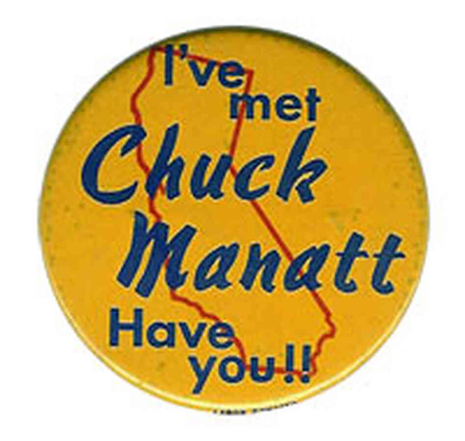Chuck Manatt button