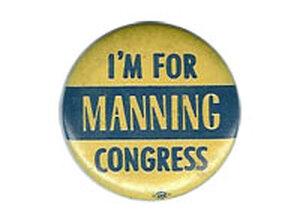 Manning button