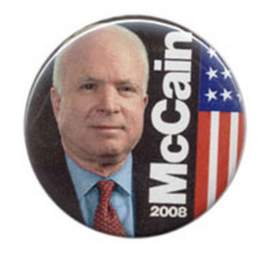 John McCain button