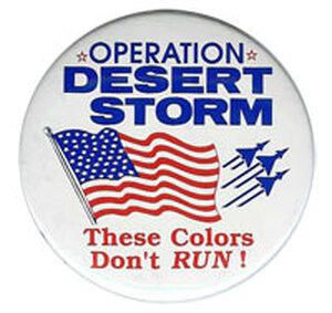 Operation Desert Storm button
