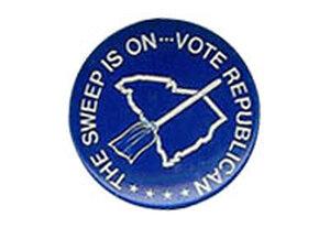 Republican sweep button