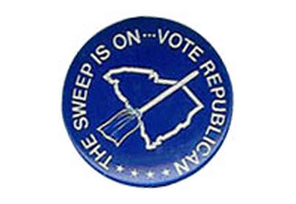 Republican sweep button
