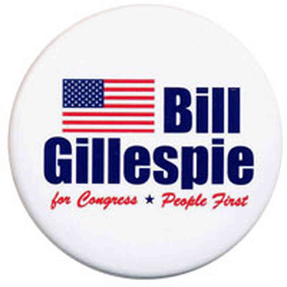 Democrat Bill Gillespie faces a tough fight in trying to