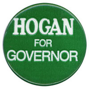 Hogan for Governor campaign button