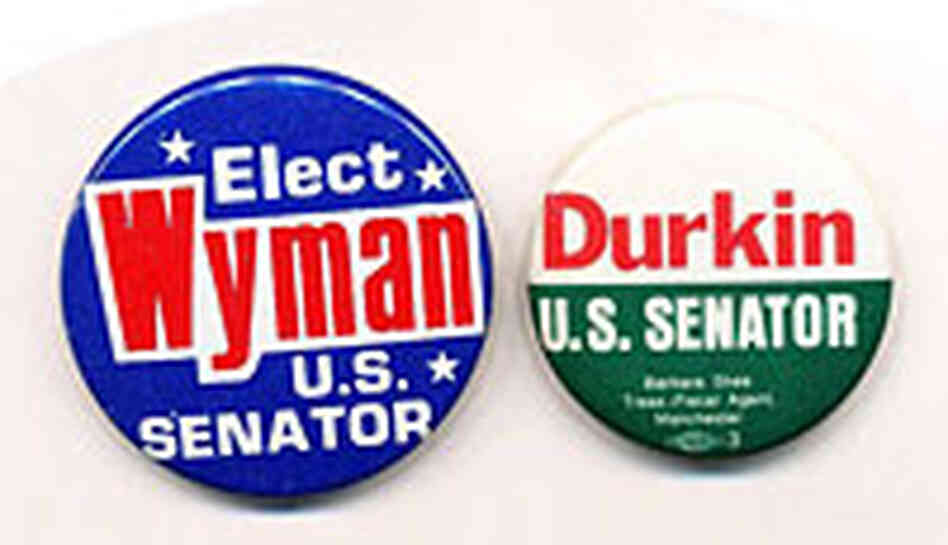 The Senate was unable to determine who won the 1974 Wyman-Durkin contest.