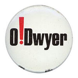 Paul O'Dwyer button