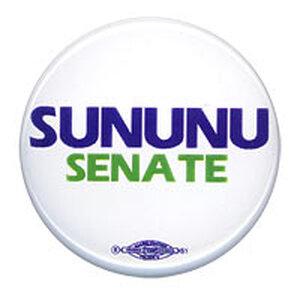 John Sununu campaign button
