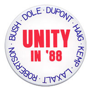 'Unity in '88' button