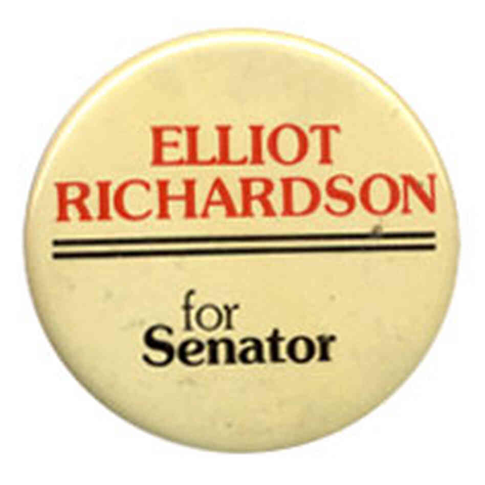 Elliott Richardson button