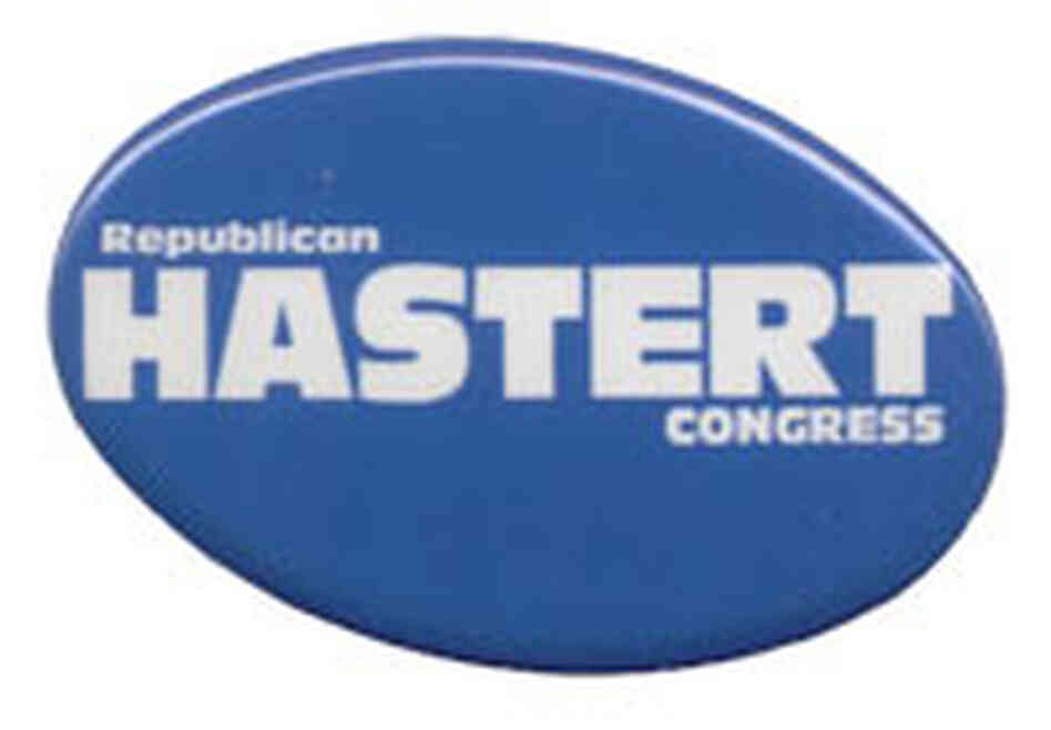 Hastert button