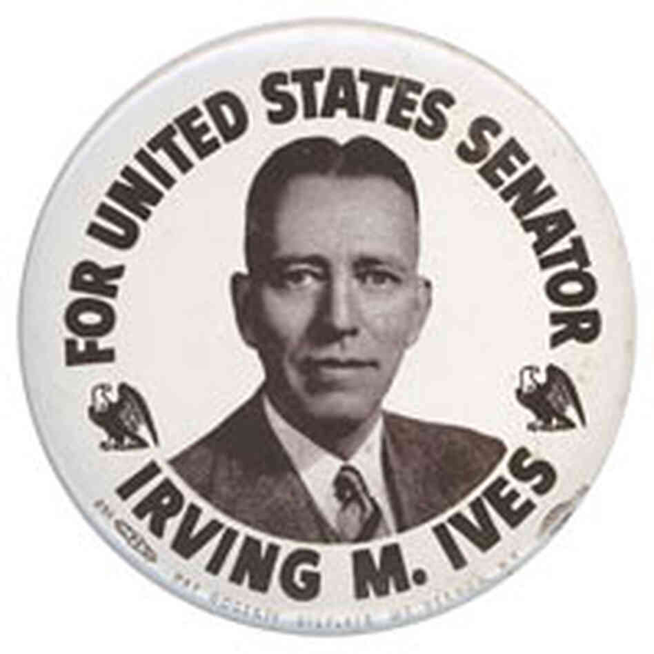 Irving Ives button