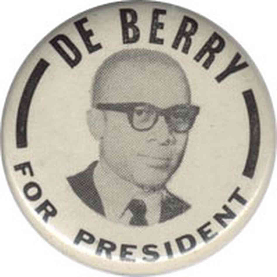 In 1964, Clifton DeBerry became the first black to head up a presidential ticket.